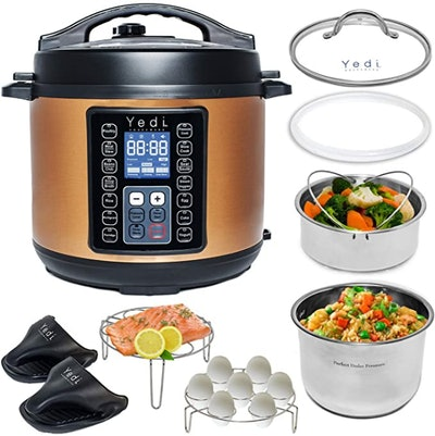 Yedi 9-In-1 Total Package Instant Cooker (6-Quart)