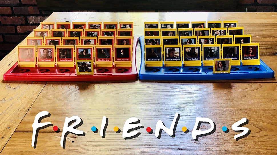 """A """"Friends""""-themed Guess Who? bored game exists and is perfect for your next game night."""