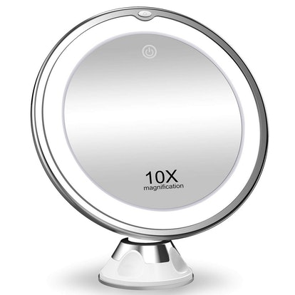 KOOLORBS 10X Magnifying Makeup Mirror