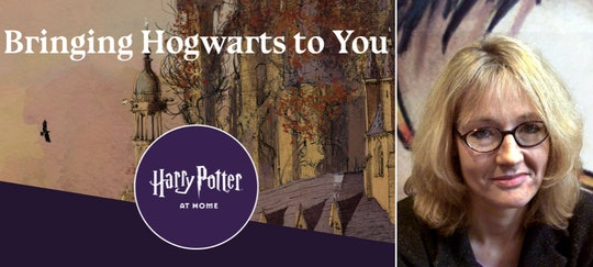 """Harry Potter"" fans can now join a new website for fun things to do at home."