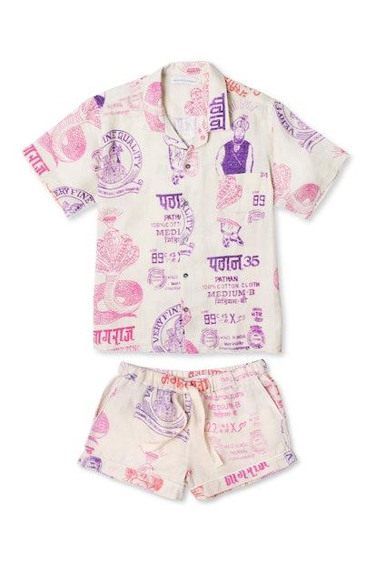 Cuban Pyjama Set - The Market Print