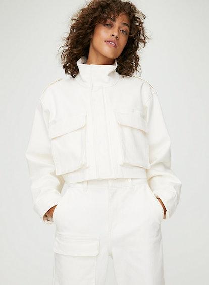 Cropped Workwear Jacket