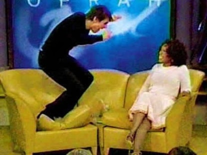 In 2005, Tom Cruise jumped on Oprah's couch. The moment became a cultural touchstone – and the image...