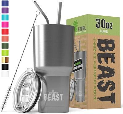 Greens Steel Beast Stainless Steel Tumbler