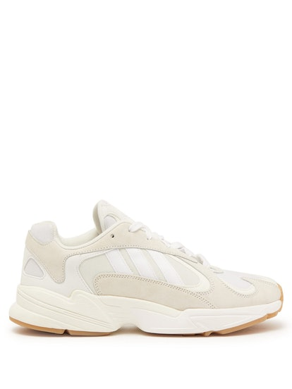 Yung-1 Mesh And Nubuck Trainers