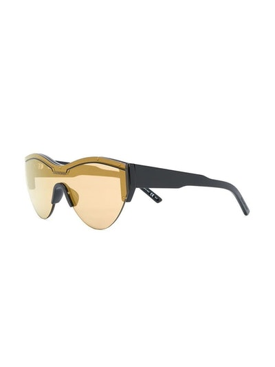 Cat Eye Logo Sunglasses Yellow