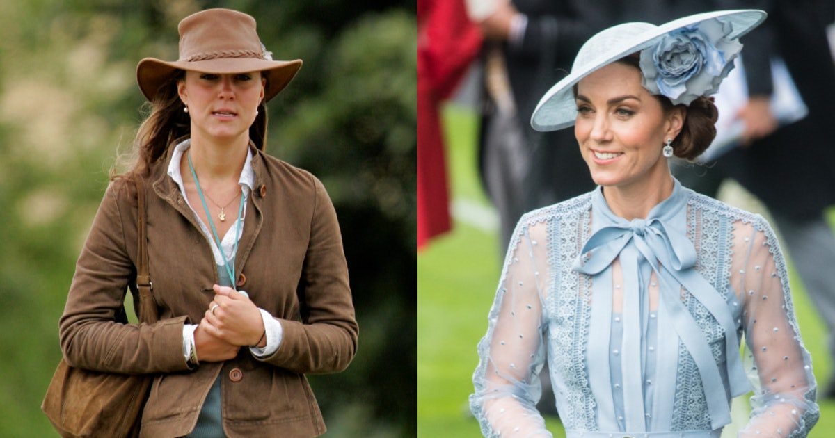 Kate Middleton S Fashion Transformation Is Truly One For The Books