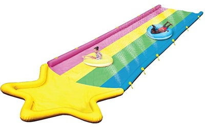 BigMouth Inc. Rainbow Stripe Lawn Water Slide