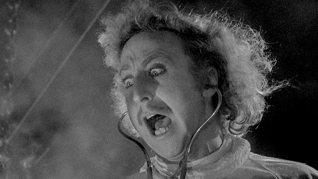 Gene Wilder in Young Frankenstein (1974)