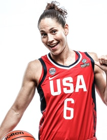 Sue Bird is a WNBA star who trains hard and takes nothing for granted.