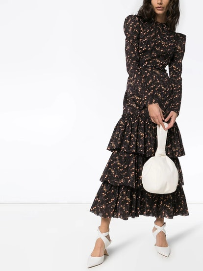 Earl floral ruffle dress