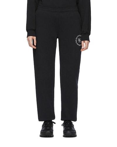 Black 'Wellness' Lounge Pants