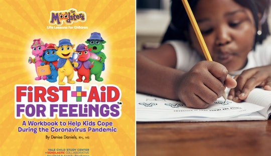 "The ""First Aid For Feelings"" workbook, a free coronavirus resource from the Yale Child Study Center-Scholastic Collaborative for Child and Family Resilience, aims to help kids cope with the COVID-19 pandemic."