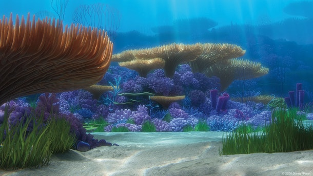 These14 Pixar movie Zoom backgrounds include a 'Finding Nemo' background.