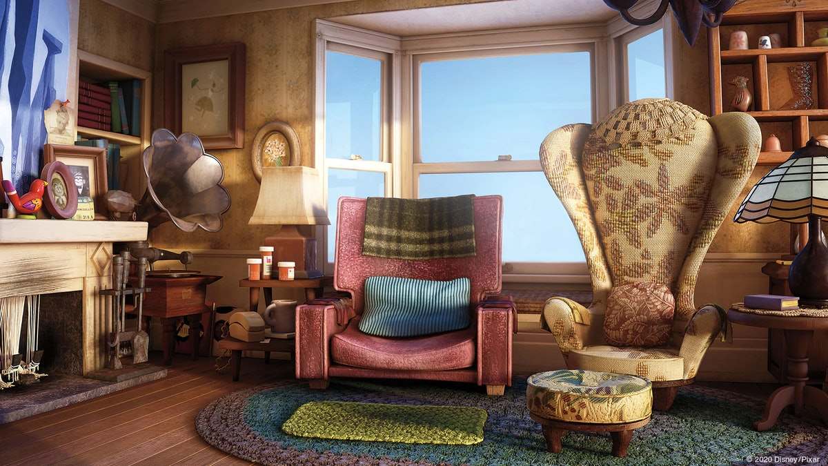 These14 Pixar movie Zoom backgrounds include scenes from movies like 'Up.'
