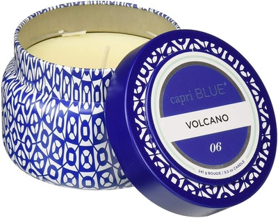 Capri Blue Volcano Printed Travel Tin Candle