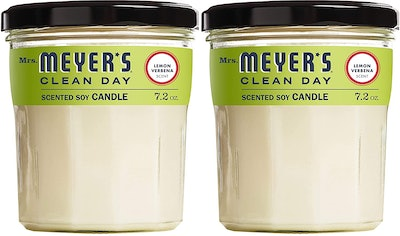 Mrs. Meyer's Clean Day Lemon Verbena Soy Candles (2-Pack)