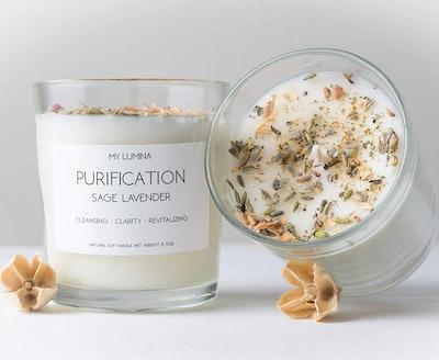 My Lumina Purification Sage Lavender Candle