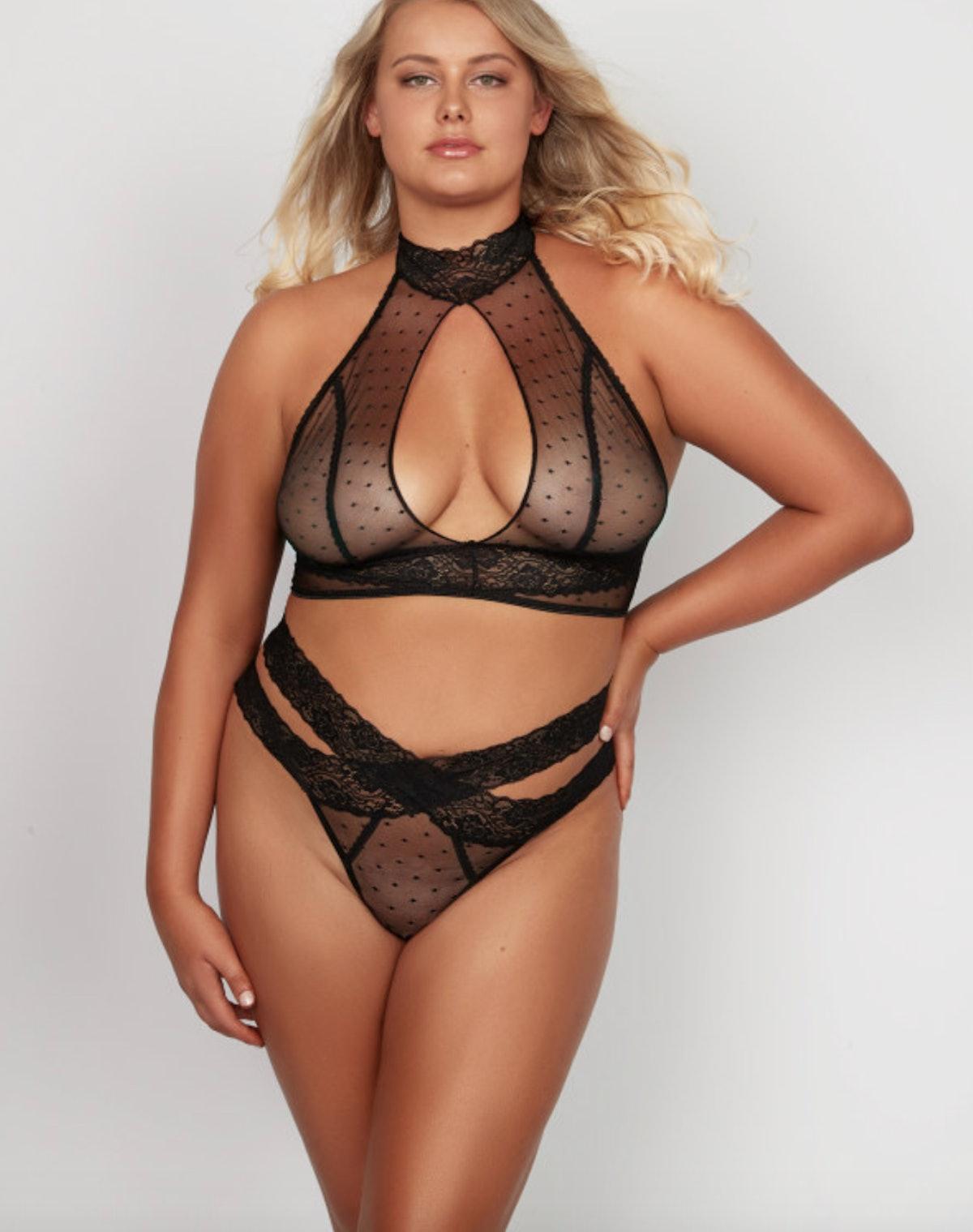 Alexia Love Mesh Plus Size Set