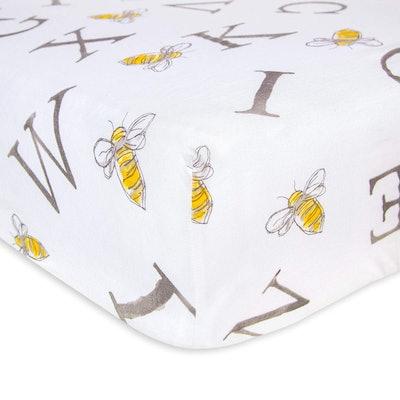 Burt's Bees Baby Fitted Crib Sheet