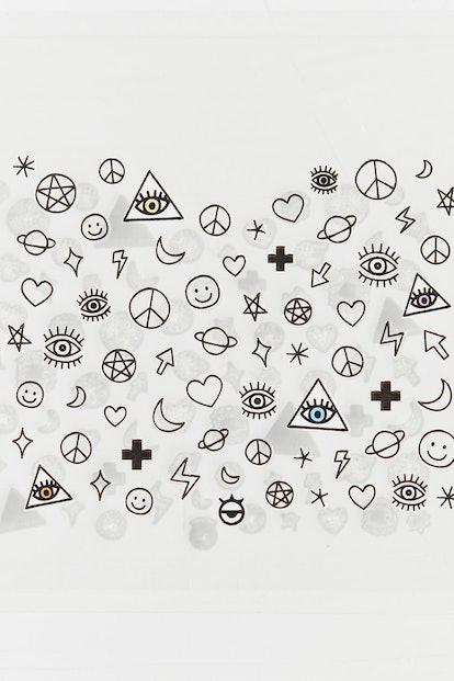 Little Tattoo Nail Stickers