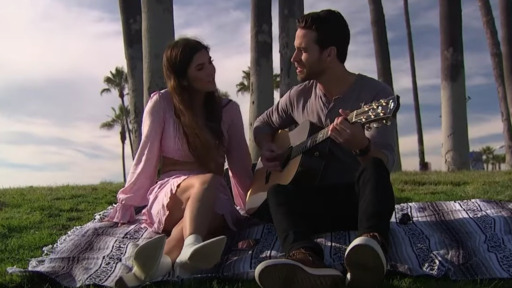 """Jamie Gabrielle sings with Trevor Holmes on ABC's """"The Bachelor Presents: Listen To Your Heart"""""""