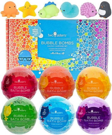 Two Sisters Bubble Bombs Squishy Surprise Kit (Set of 6)