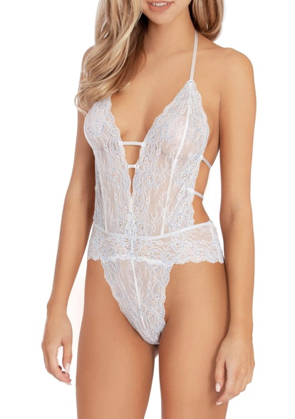 Lace Thong Teddy
