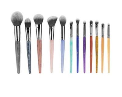 Crystal Zodiac 12-Piece Brush Set