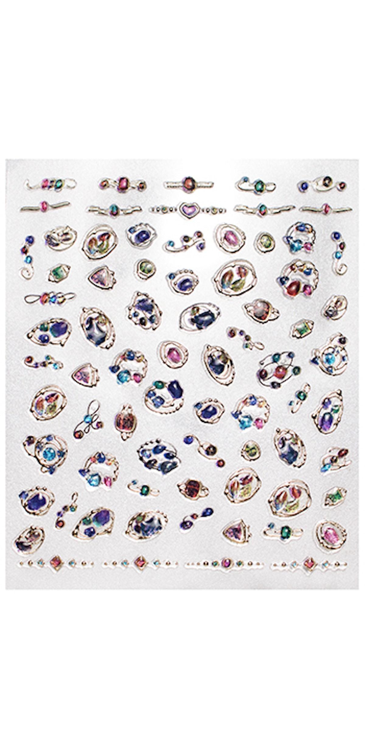 Bejeweled Nail Art Deco