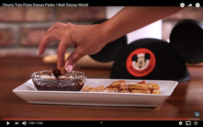 Pair your Disney churro bites with your favorite dipping sauce.