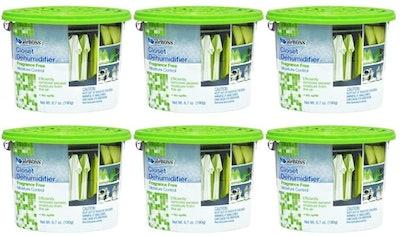 airBOSS Closet Dehumidifier (6-Pack)