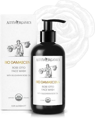 "Alteya USDA Organic ""BioDamascena"" Face Wash With Bulgarian Rose Oil (8.5 Oz.)"
