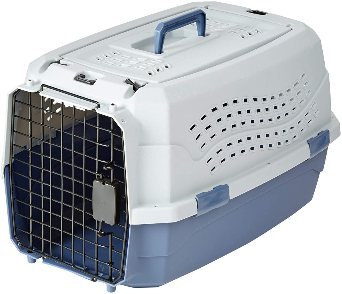 AmazonBasics Two-Door Top-Load Hard-Sided Pet Carrier