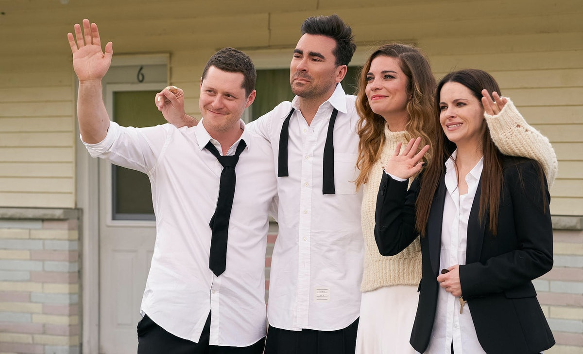 The 'Schitt's Creek' series finale included a bunch of easter eggs and callbacks.