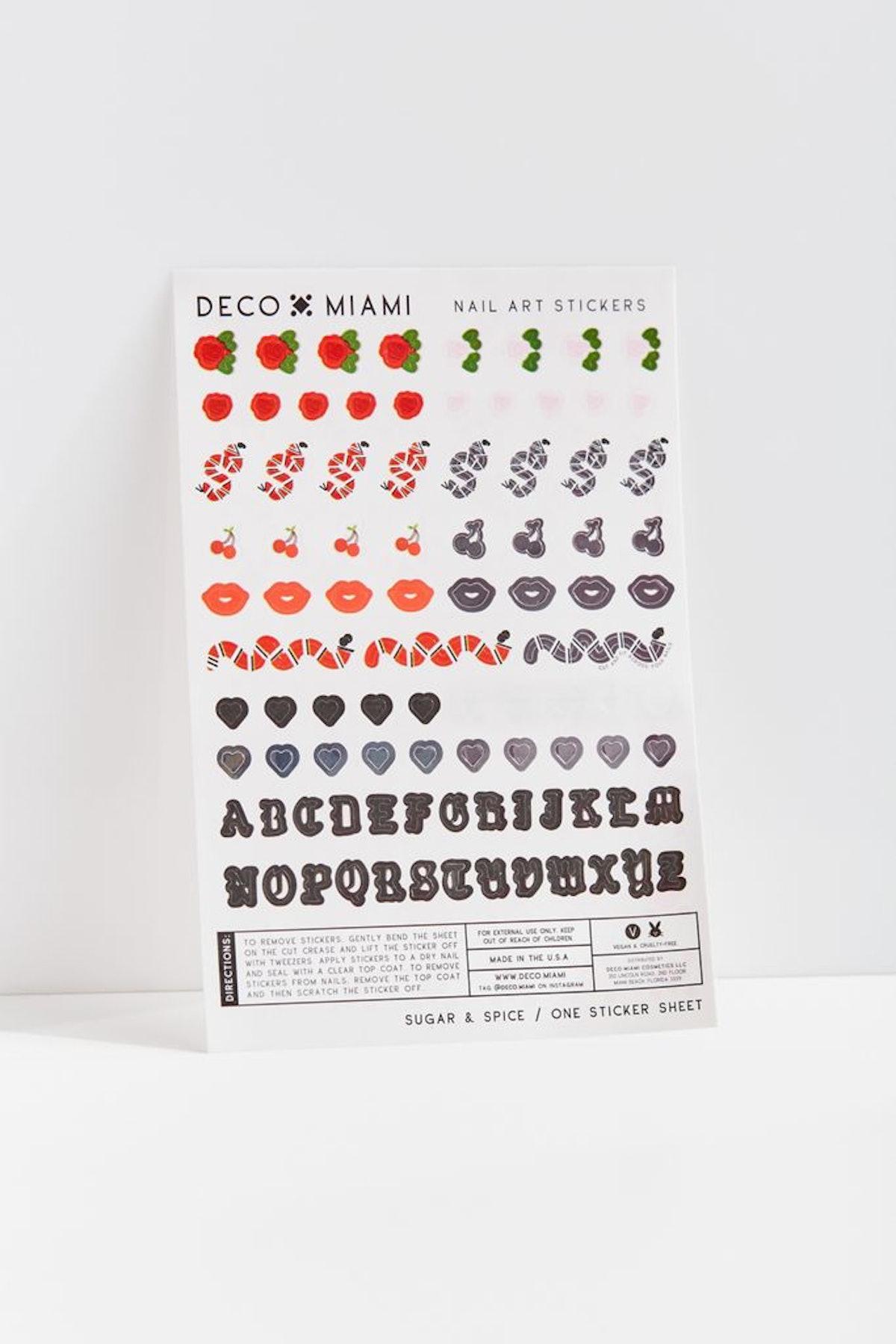 Sugar & Spice Nail Sticker Pack