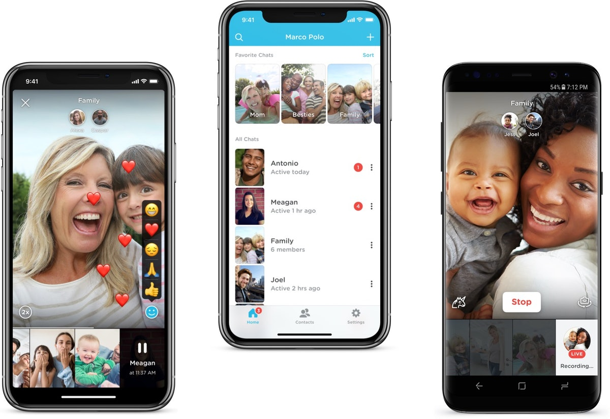 Here's how to use the Marco Polo app to virtually send video conversations back and forth.