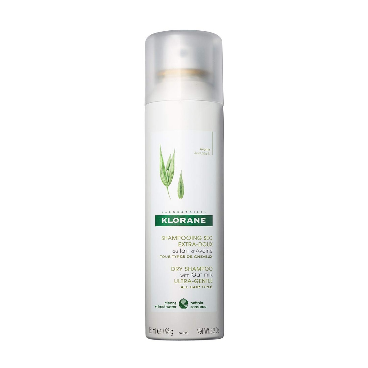 Klorane Dry Shampoo With Oat Milk (3.2 Ounces)