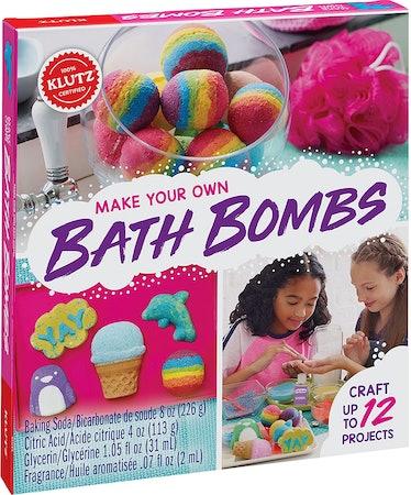 Klutz Make Your Own Bath Bombs Craft & Activity Kit