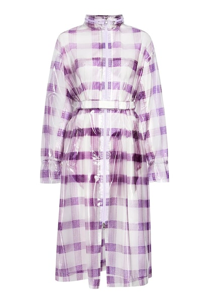 THE AMY Belted Raincoat