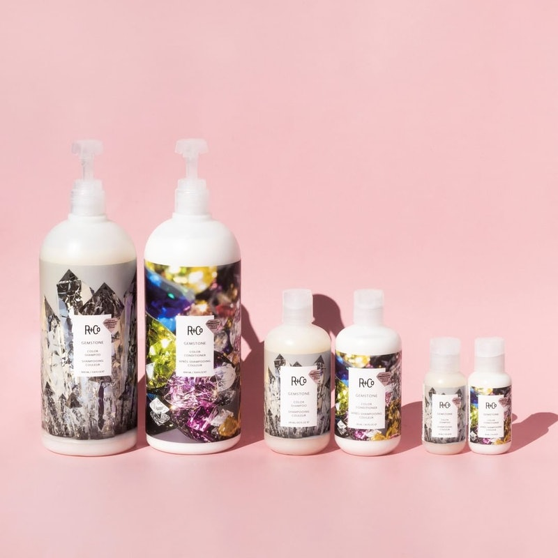 The newest sale from R+Co features liter versions of its shampoo and conditioner sets.