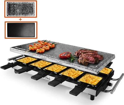 Artestia 10-Person Electric Raclette Grill