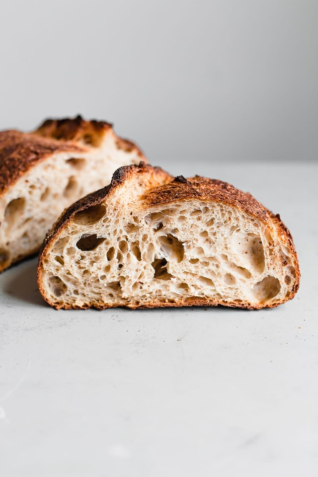 Artisan sourdough bread is a great bread recipe without yeast to make at home.