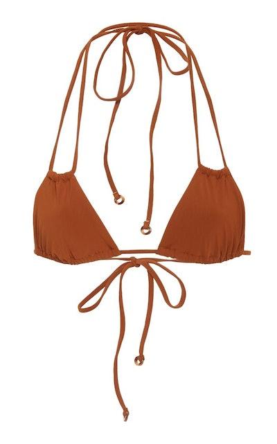 Rust Jane Double String Bikini Top