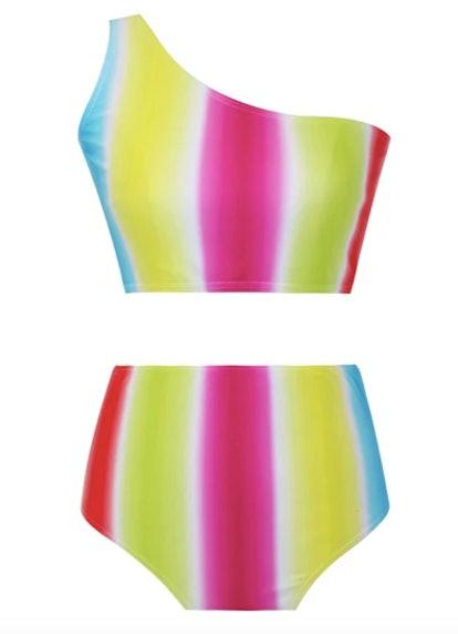 Zinna Two Piece Rainbow