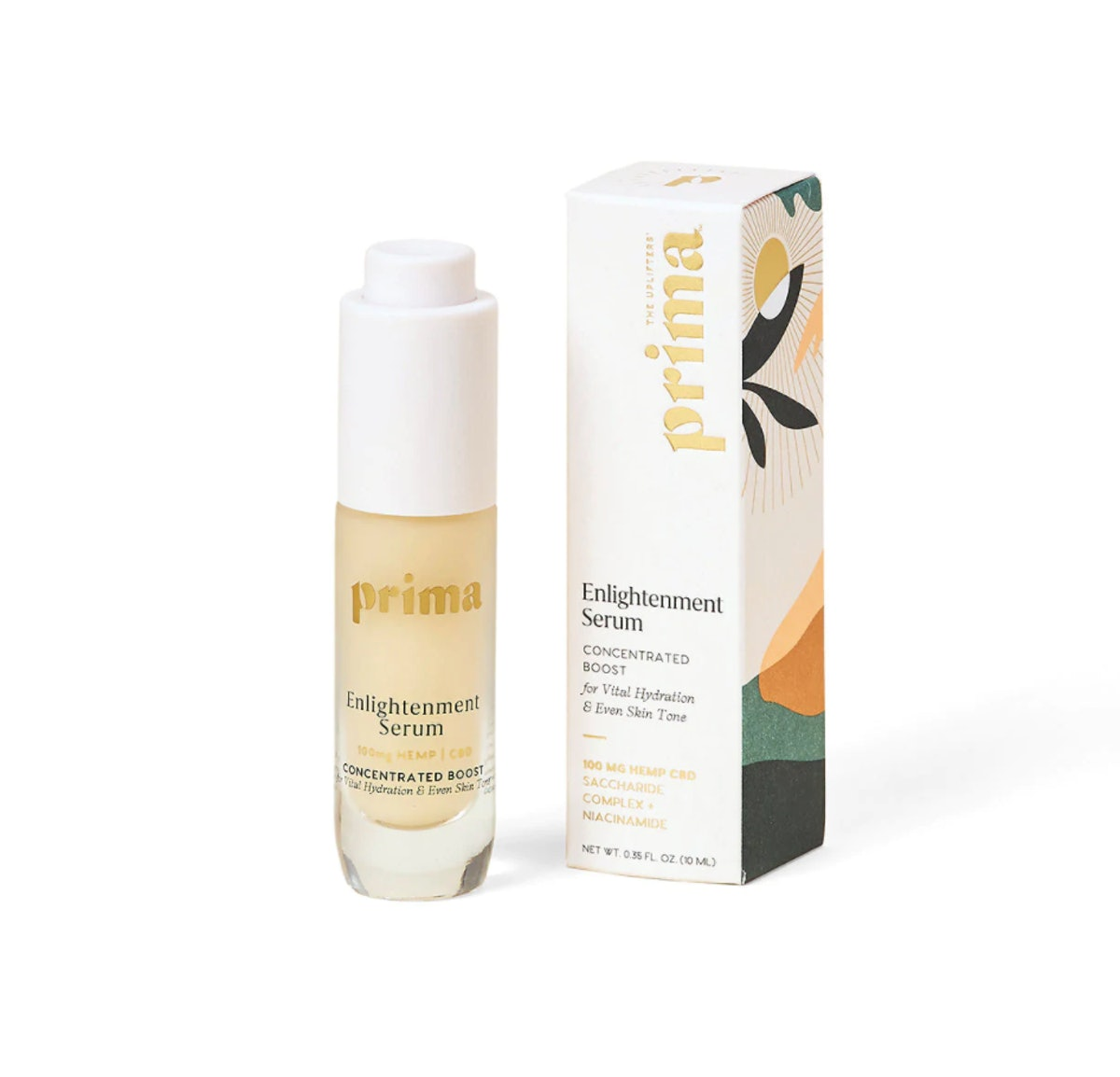 Enlightenment Serum Concentrated CBD Serum Booster for Vital Hydration & Even Skin Toner