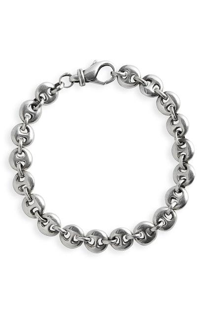 Small Circle Link Bracelet