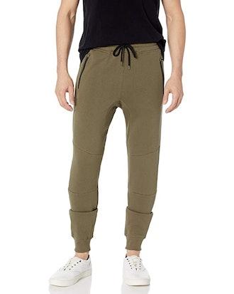Brooklyn Athletics Men's Fleece Zipper Pocket Sweatpants