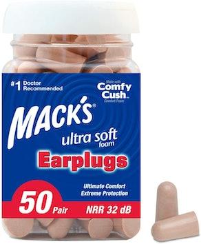 Mack's Ultra Soft Foam Earplugs (50 pairs)