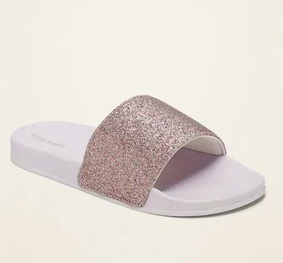 Glitter Pool Sandals